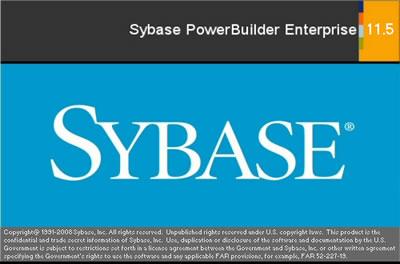 Sybase powerbuilder
