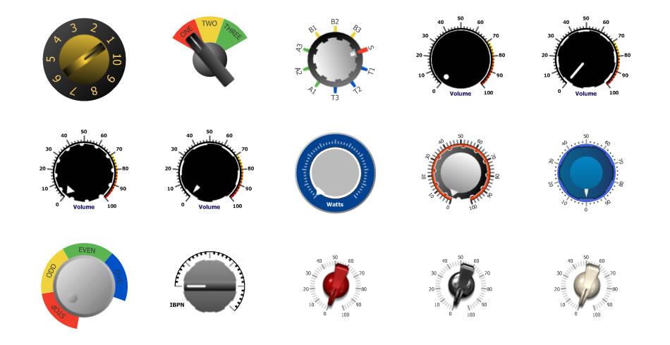 Gallery - Knob  Winforms  Activex